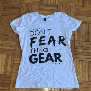District Made CycleBar Don't Fear The Gear T